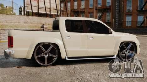 Volkswagen Amarok Light Tuning para GTA 4 left