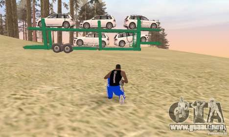Car Transporter para GTA San Andreas