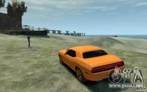 Dodge Challenger Concept para GTA 4 Vista posterior izquierda