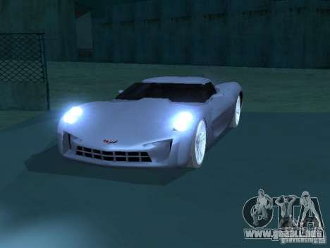 Chevrolet Corvette Stingray para GTA San Andreas