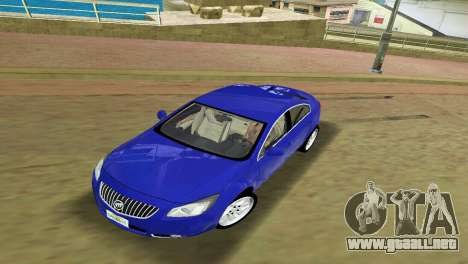 Buick Regal para GTA Vice City left