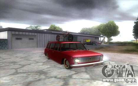 VAZ 2102 retro para la visión correcta GTA San Andreas