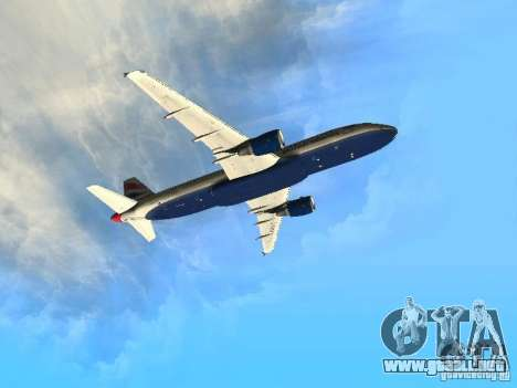 Airbus A320 British Airways para visión interna GTA San Andreas