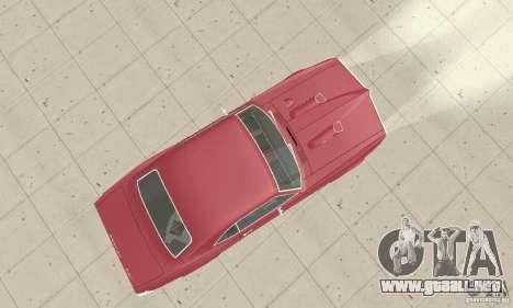 Pontiac Firebird 1968 para la visión correcta GTA San Andreas