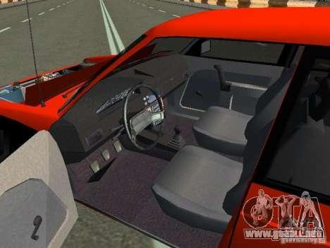 45 AZLK-2141 Svyatogor para GTA San Andreas vista hacia atrás