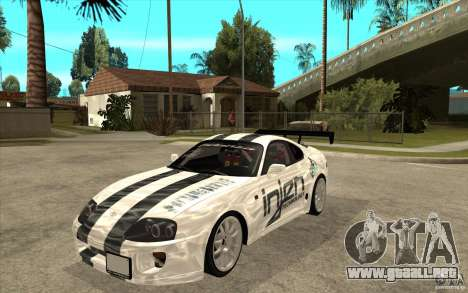 Toyota Supra MK-4 para GTA San Andreas