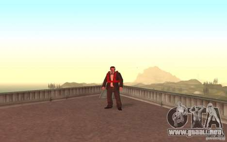 Global fashion parachute para GTA San Andreas