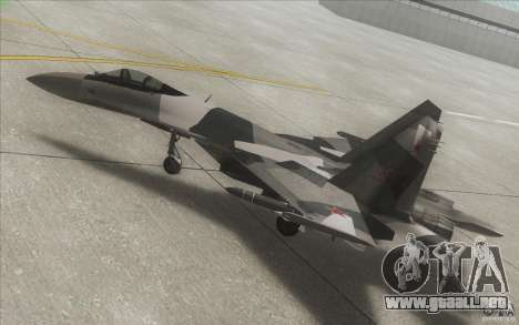 Su-35 BM v2.0 para la vista superior GTA San Andreas
