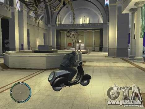 Vyatka moto scooter para GTA 4 Vista posterior izquierda