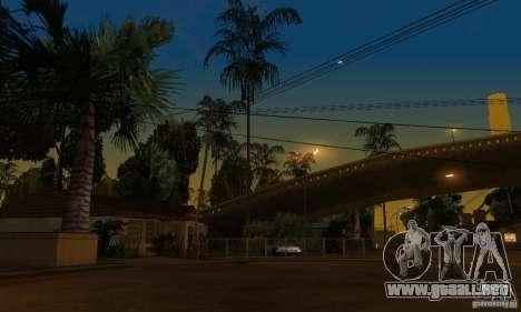 Green Piece v1.0 para GTA San Andreas octavo de pantalla