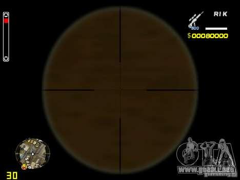 White and Black weapon pack para GTA San Andreas tercera pantalla