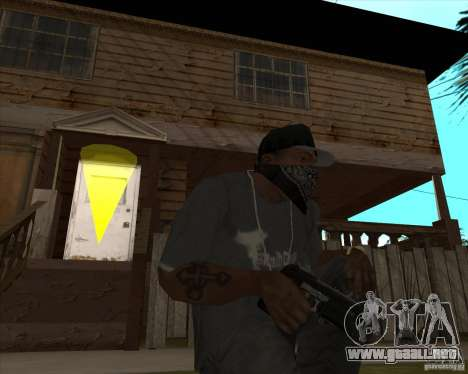Resident Evil 4 weapon pack para GTA San Andreas