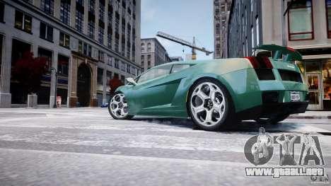 Lamborghini Gallardo para GTA 4 interior