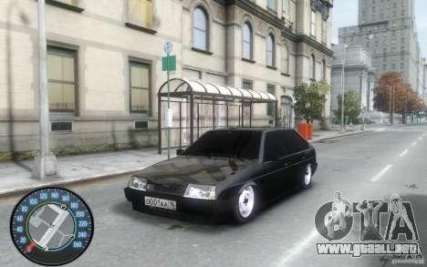 VAZ 2109 Daguestán tuning para GTA 4