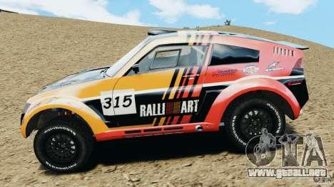 Mitsubishi Pajero Evolution MPR11 para GTA 4 left