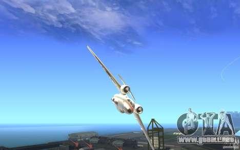 Antonov 74 para la visión correcta GTA San Andreas