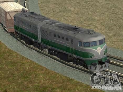 TE2-414 para vista lateral GTA San Andreas