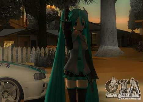 Anime Characters para GTA San Andreas tercera pantalla
