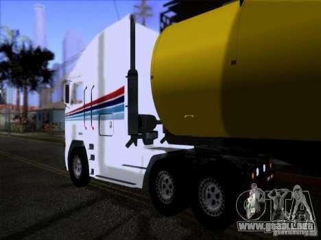 Freightliner Argosy Skin 3 para la visión correcta GTA San Andreas