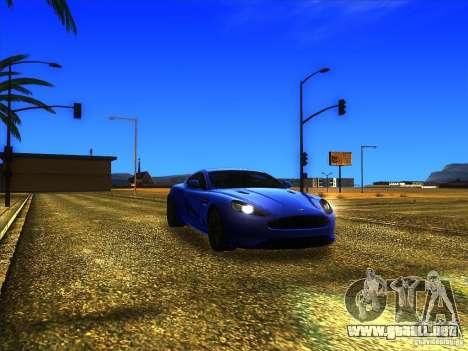 Aston Martin Virage 2011 Final para GTA San Andreas