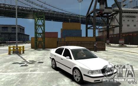 Skoda Octavia v.1.0 para GTA 4 vista desde abajo