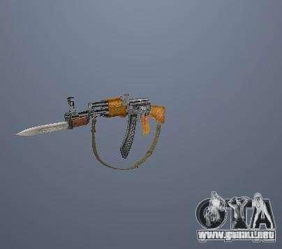 Pak altas armas poligonales para GTA San Andreas
