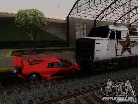 Crazy Trains MOD para GTA San Andreas tercera pantalla