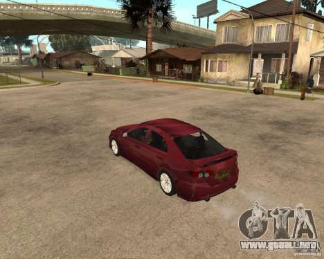 Mazda 6 Sport para la visión correcta GTA San Andreas