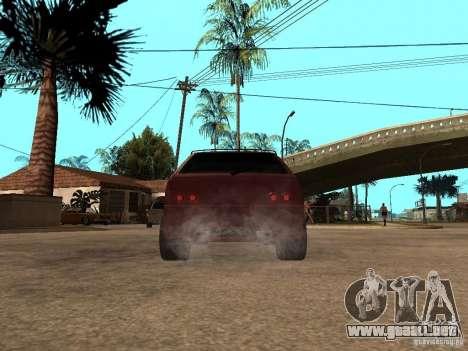 VAZ 2108 Tuning para GTA San Andreas vista posterior izquierda