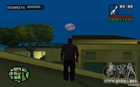 Nibiru-planeta X para GTA San Andreas tercera pantalla