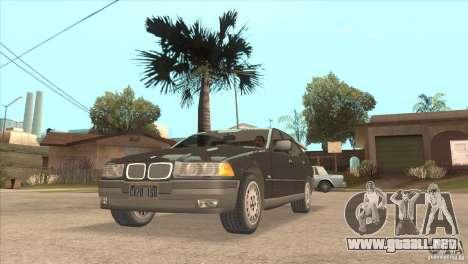 BMW 316i E36 para la visión correcta GTA San Andreas