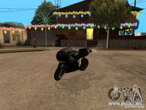 Ducati RS09 para GTA San Andreas left