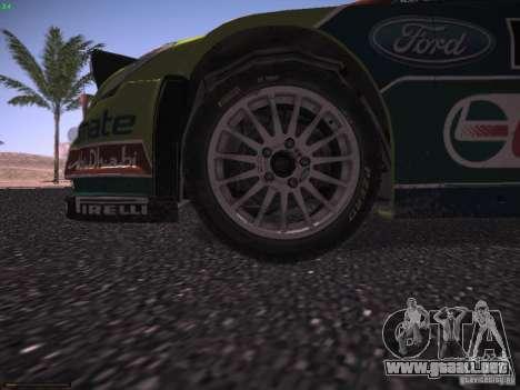Ford Focus RS WRC 2010 para el motor de GTA San Andreas