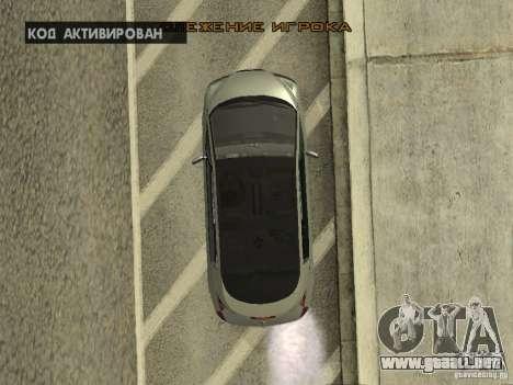 Renault Avantime para visión interna GTA San Andreas