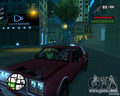 New Windows Crashes para GTA San Andreas