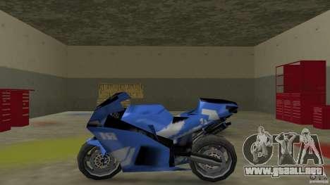 Yamaha YZF R1 para GTA Vice City left