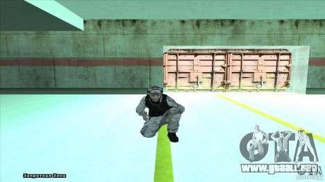 Army Soldier v2 para GTA San Andreas quinta pantalla