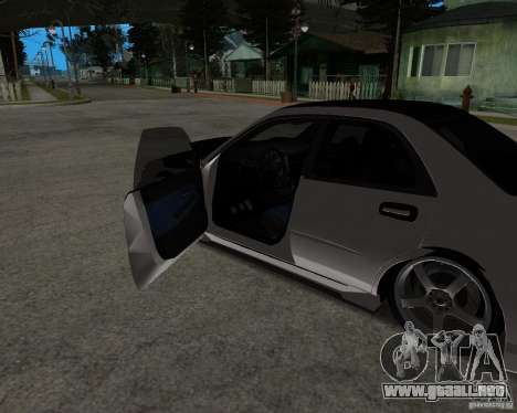 Subaru Impreza (exclusive) para GTA San Andreas vista posterior izquierda