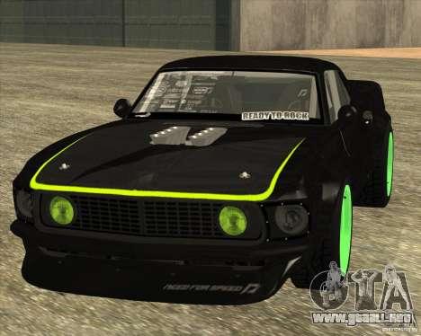 Ford Mustang RTR-X 1969 para GTA San Andreas left