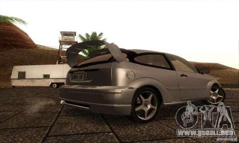 Ford Focus SVT TUNEABLE para la visión correcta GTA San Andreas