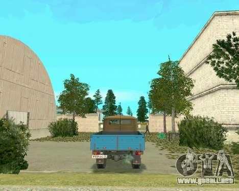 3303 UAZ para GTA San Andreas vista posterior izquierda