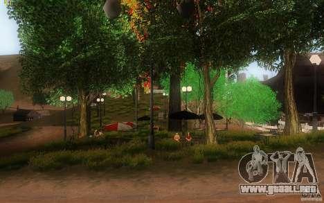 New Country Villa para GTA San Andreas octavo de pantalla