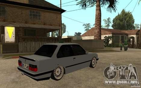 BMW E30 CebeL Tuning para la visión correcta GTA San Andreas