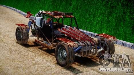 Buggy Avenger v1.2 para GTA 4 vista hacia atrás