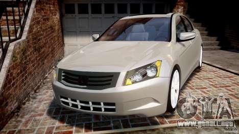 Honda Accord 2009 para GTA 4