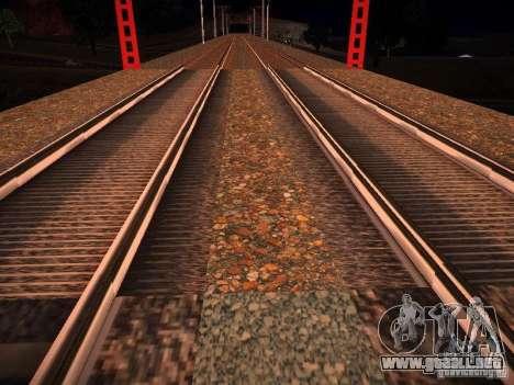 Nuevos carriles para GTA San Andreas sucesivamente de pantalla