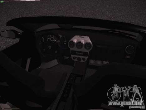Ferrari F430 Scuderia M16 para visión interna GTA San Andreas