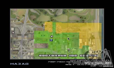 Kiosk Mod para GTA San Andreas sucesivamente de pantalla