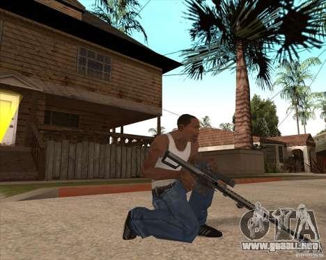CoD:MW2 weapon pack para GTA San Andreas undécima de pantalla