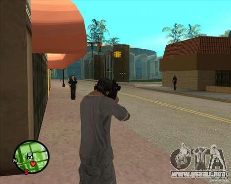 El Rifle de Ross para GTA San Andreas tercera pantalla